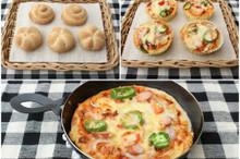 料理レッスン写真 - プチプチとした食感のカイザーゼンメルとピザパン