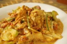 料理レッスン写真 - タイの大人気メニュー♡カニの卵カレー炒め、豆腐スープ&バナナのお汁粉
