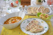 料理レッスン写真 - 春休み✿親子で作る♪野菜たっぷりカレーとナン☆簡単スイーツも作るよ~☆