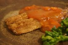 料理レッスン写真 - 一人1尾イワシの手開きに挑戦!鰯の和風トマト甘酢あん&大根と油揚サラダ
