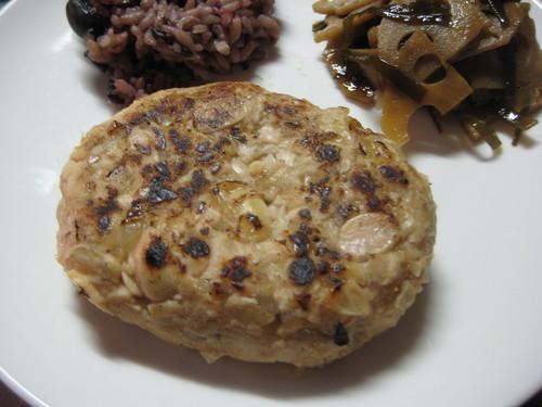Macrobiotic Soybean Hamburger Patties