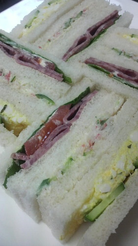 The Cut Edges Are The Key: Beautiful Sandwiches