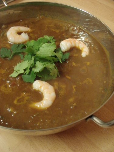 Indian Prawn Curry – Made from Scratch