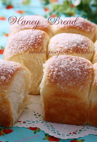 Sugar-topped Honey Bread With Homemade Yeast