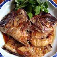 Delicious Simmered Sea Bream with Sauce