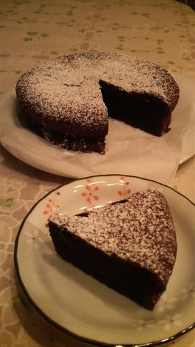 No Meringue Necessary Easy Rich Gateau au Chocolat (Chocolate Cake)