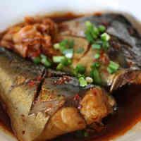 Mackerel Simmered In Kimchi