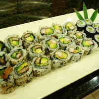 Eel Roll and California Roll