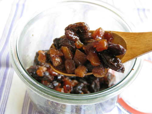 Brandy-Soaked Mixed Dried Fruit