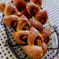 Anko paste Kinako Soy Flour Pain d'Epi