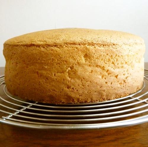 Standard Spongecake - No Butter Necessary