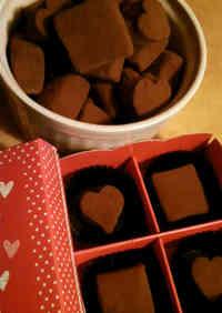 Easy, Homemade Chocolate Truffle Blocks