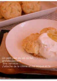 Crispy Scones without Baking Powder