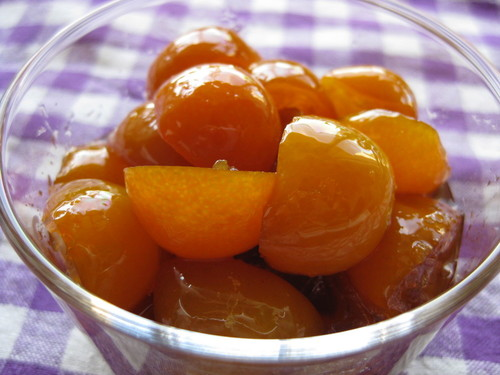 Kumquats Simmered In Rich Sugar Syrup
