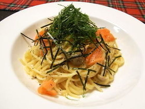Smoked Salmon Cheese Cream Pasta