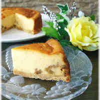 ◆ Walnut and Caramel ◆ Cheesecake