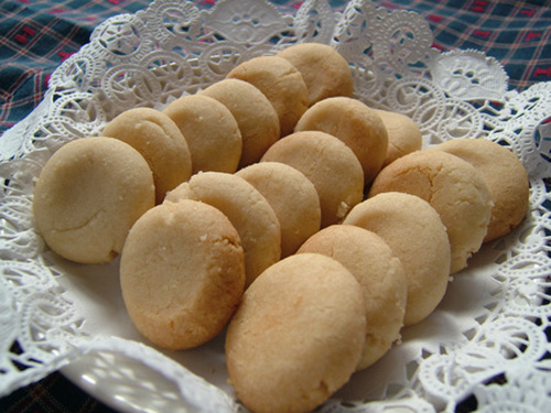 Easy Just-Mix Almond Cookies