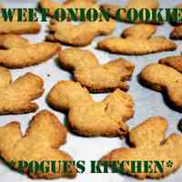 New Harvest Sweet Onion Sablé Cookies
