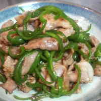 Stir-Fried Pork and Bell Pepper
