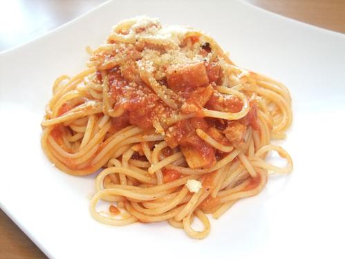 Scallop and Tomato Pasta