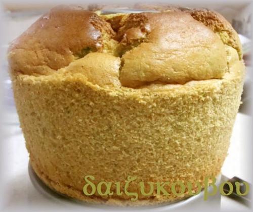 Oil-Free, Sugar-Free Rice Flour Soy Milk Chiffon Cake