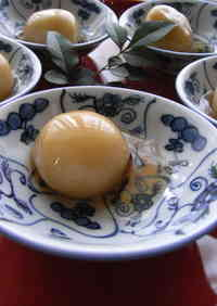 So Fluffy ~ Chewy White Shiratamako Dango