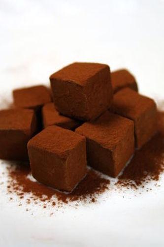 Heavy Cream-free Chocolate Truffles