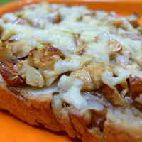 Maple Cheese and Nuts on Toast