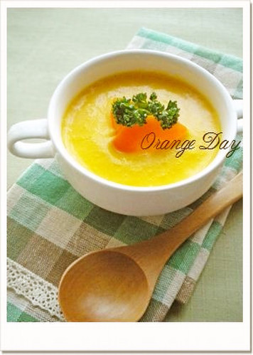 Carrot and Nagaimo Yam Potage