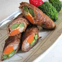Beef Rolled Vegetables