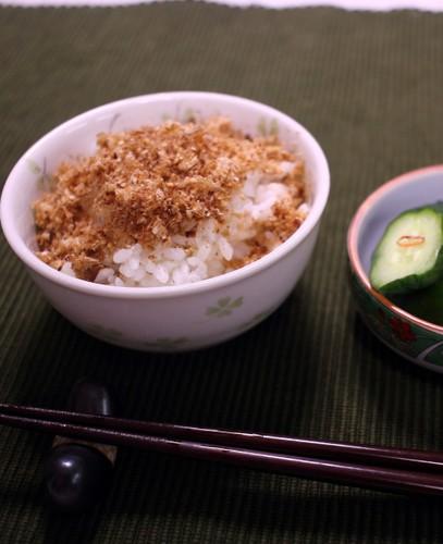 Tasty Rice Seasoning with Leftover Bonito