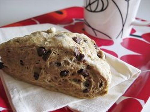 Chocolate Coffee Scones