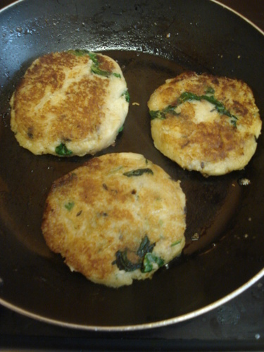 Indian Veggie Potato Patties