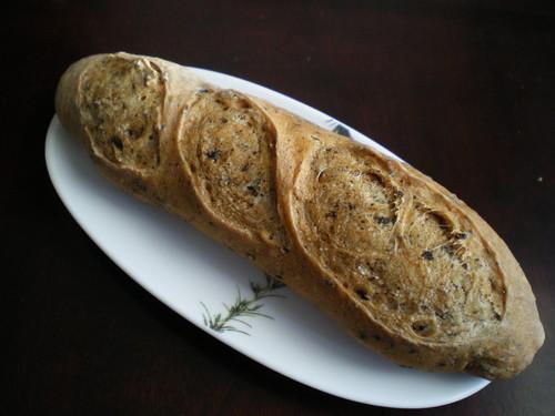 Made in a Bread Machine! Fragrant Black Tea Baguette