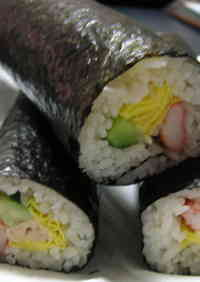 Salad Sushi Rolls - Great for Festive Occasions
