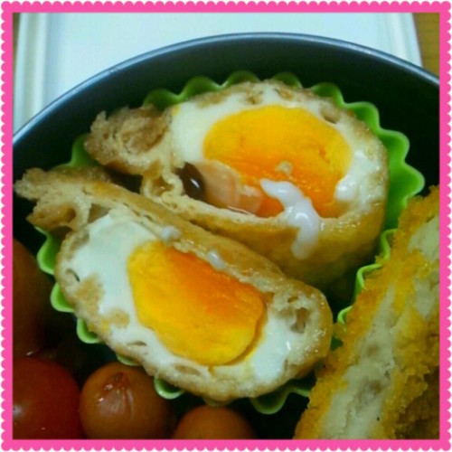 Microwaved Egg Pouches for Bento in 5 Minutes