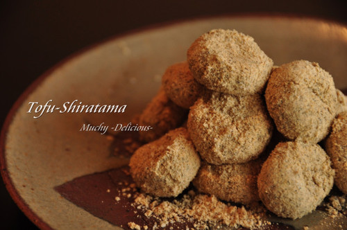 Yummy Chilled or Warm ✿ Tofu and Soy Milk Shiratama Dumplings