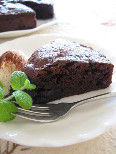Chocolate Berry Cake