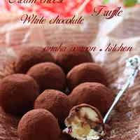 Cream Cheese & White Chocolate Truffles