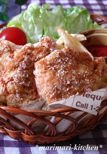 Consomme & Cheese Flavor Chicken Breast Karaage