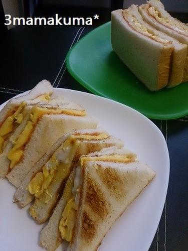 Kansai-Style Egg Sandwich