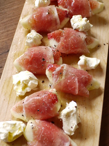 Cured Ham and Figs