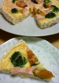 Okara Tart Base & Soy Milk Quiche