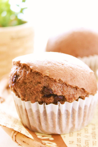 Steamed Double Chocolate Buns with Pancake Mix