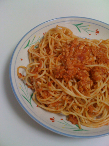 Vegan 'Meat' Sauce for Pasta