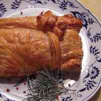 Russian-Style Salted Salmon Pie