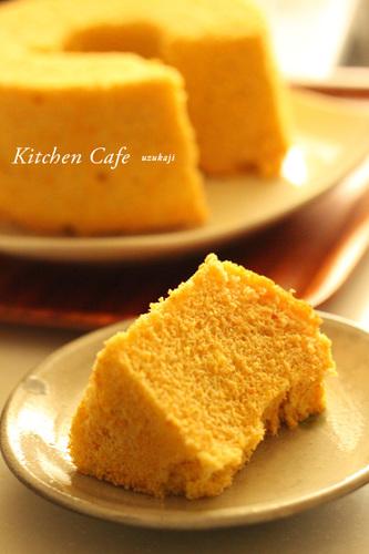 Carrot Chiffon Cake