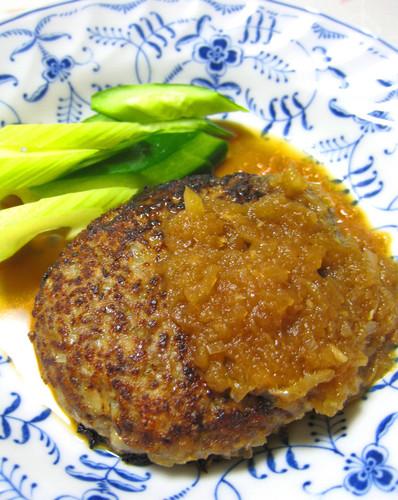 Hamburger Sauce With Onion & Apple