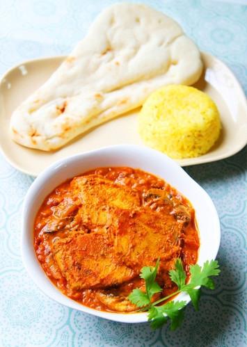 Authentic Tandoori Fish Curry