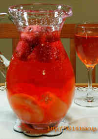 Sangria: Spring Themed Strawberry Version